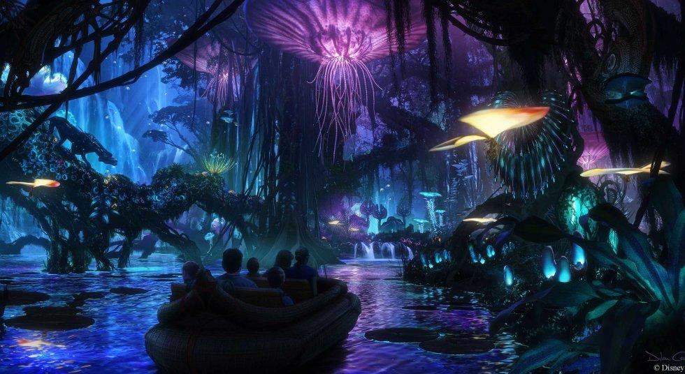 """""""Pandora: The World of Avatar"""" será el nombre de la nueva atracción del parque Animal Kingdom. Abrirá el próximo 27 de mayo de 2017."""