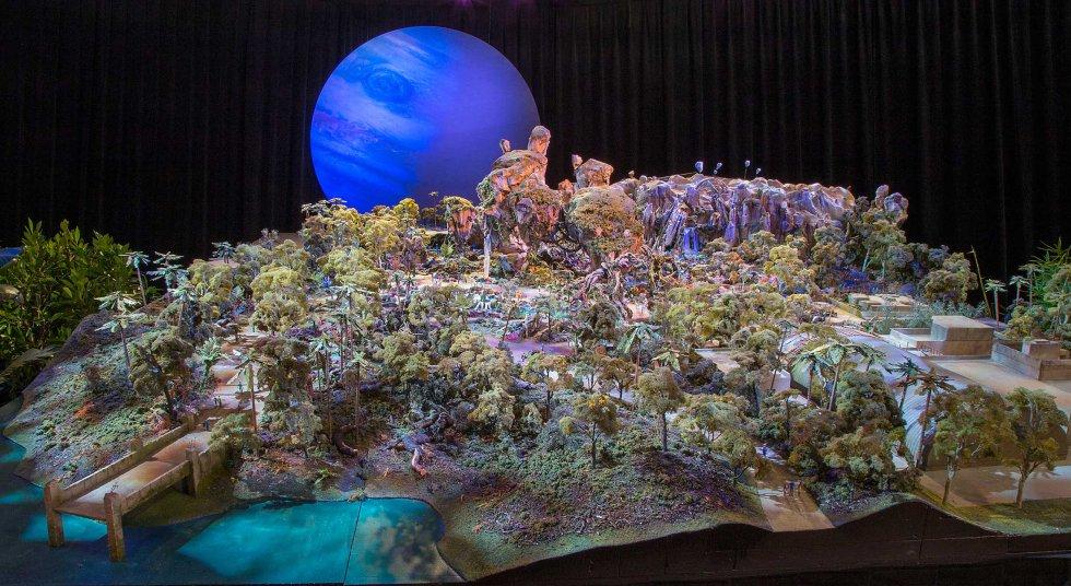 Réplica de Pandora, planeta donde se desarrolla la cinta.