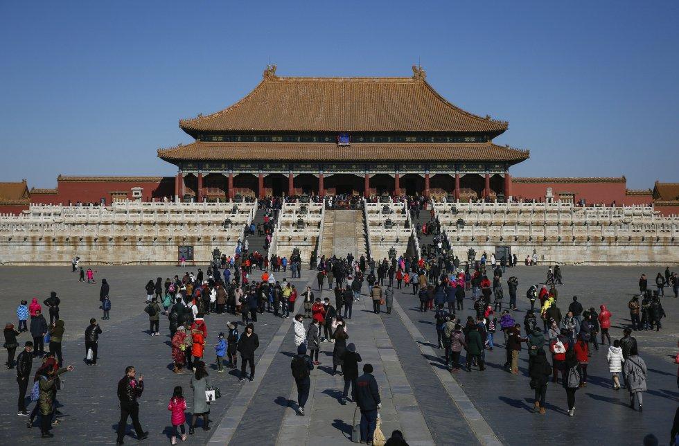 Construido entre 1406 y 1420, el complejo alberga 980 edificios y ocupa 720.000 m.