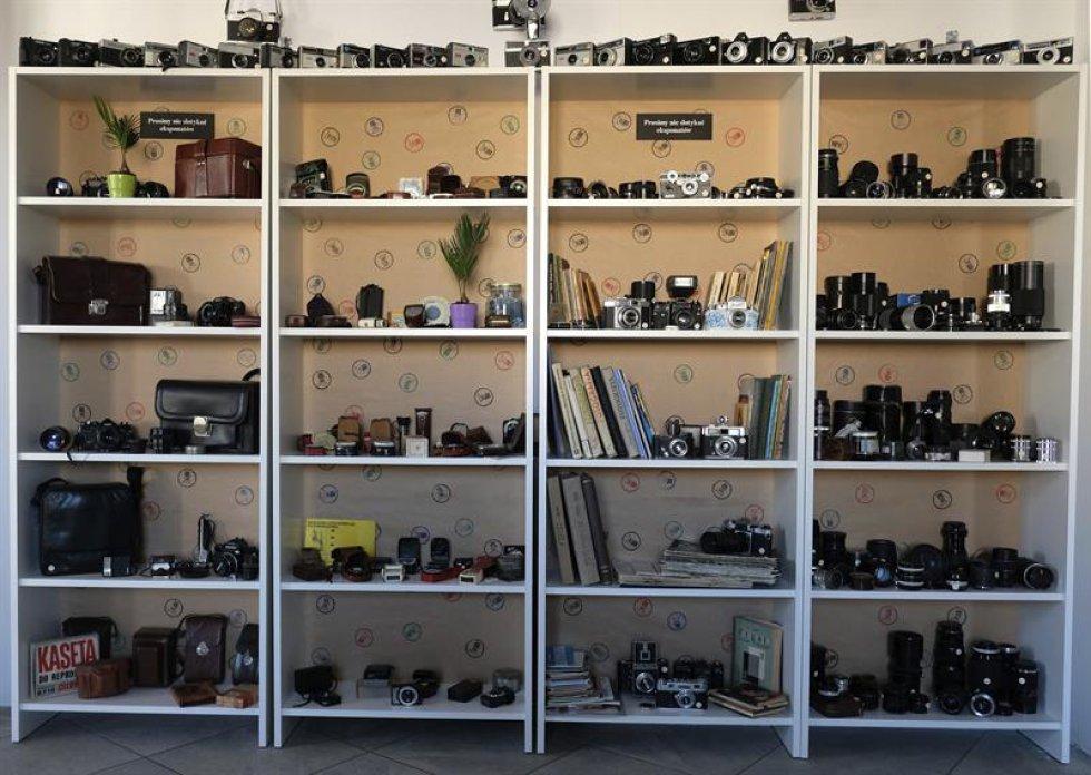 La cámara más antigua data del 1863 y los objetos más valiosos son las cámaras de espionaje.