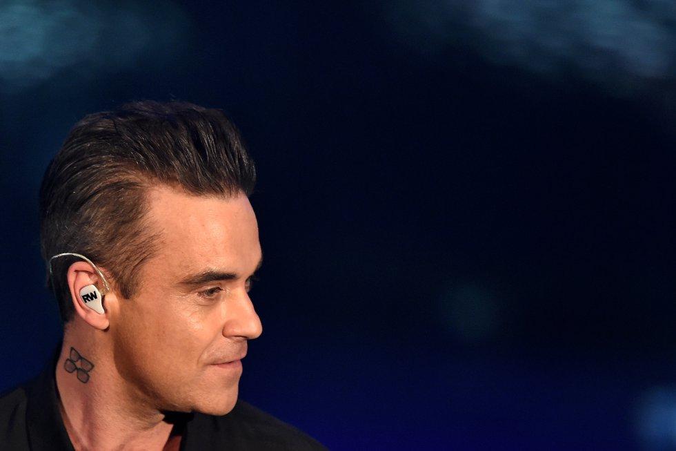 Robbie Williams era muy malo con los estudios pero tenía habilidades para los deportes.