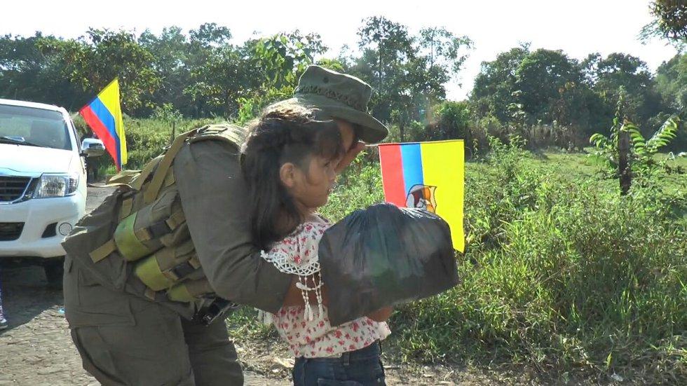 Es el último grupo de las Farc en concentrarse, la última fracción que completó los 6.900 guerrilleros concentrados, según cifras del presidente Juan Manuel Santos.