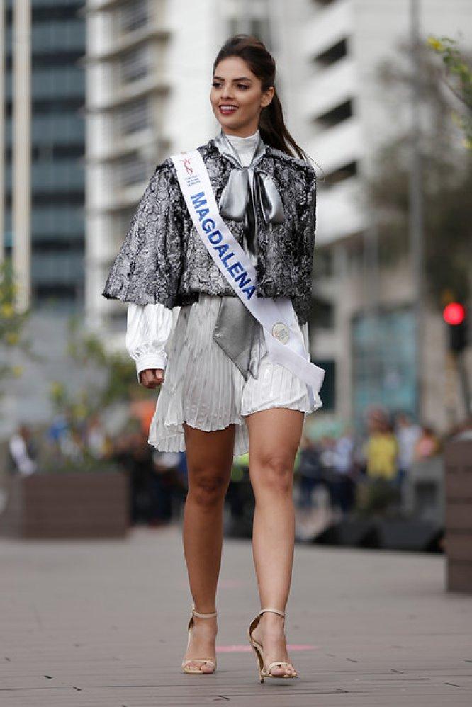 """Reinado Nacional de Colombia: [Fotos] Candidatas a Señorita Colombia desfilaron en la """"Prueba Real"""""""
