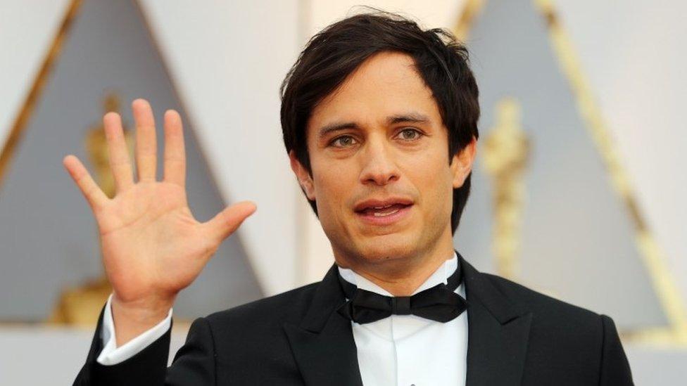 El actor mexicano Gael García fue uno de los invitados latinoamericanos a la entrega de los Oscar. Durante la ceremonia, será uno de los encargados de anunciar al ganador de una de las estatuillas.