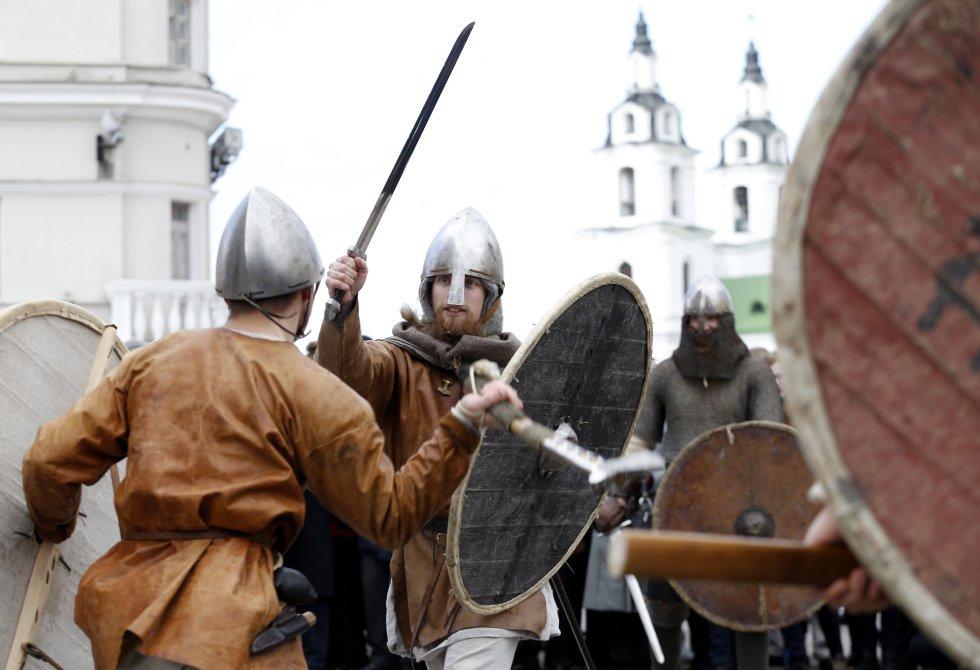 """Una de esas muestras es el """"Festival de la Cultura Medieval"""" en el cual se conmemora la fundación de Minsk, capital de ese país."""