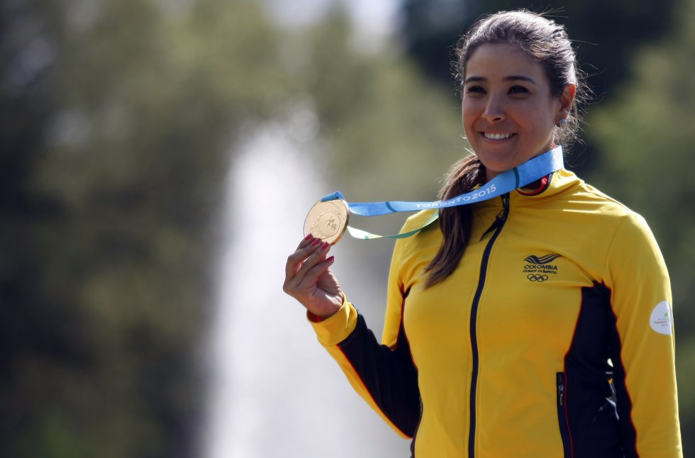 María José Uribe: Es la principal representante femenina del país en el golf. En 2015 ganó medalla de oro en los Juegos Panamericanos.