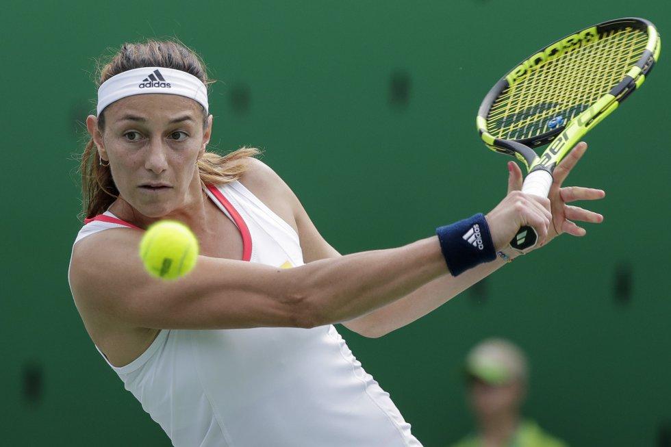Mariana Duque: Actualmente es el raqueta número uno del país en el tenis femenino. Su buen desempeño le valió un lugar en Río 2016.
