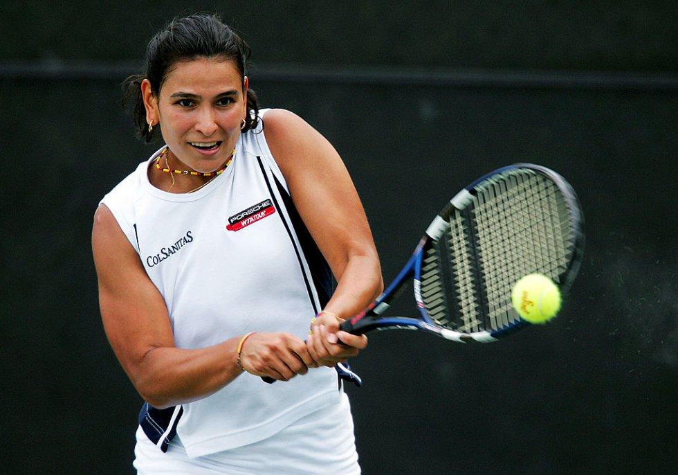 Fabiola Zuluaga: Considerada la mejor tenista colombiana en la historia del deporte blanco, la cucuteña alcanzó 14 títulos durante su carrera profesional.