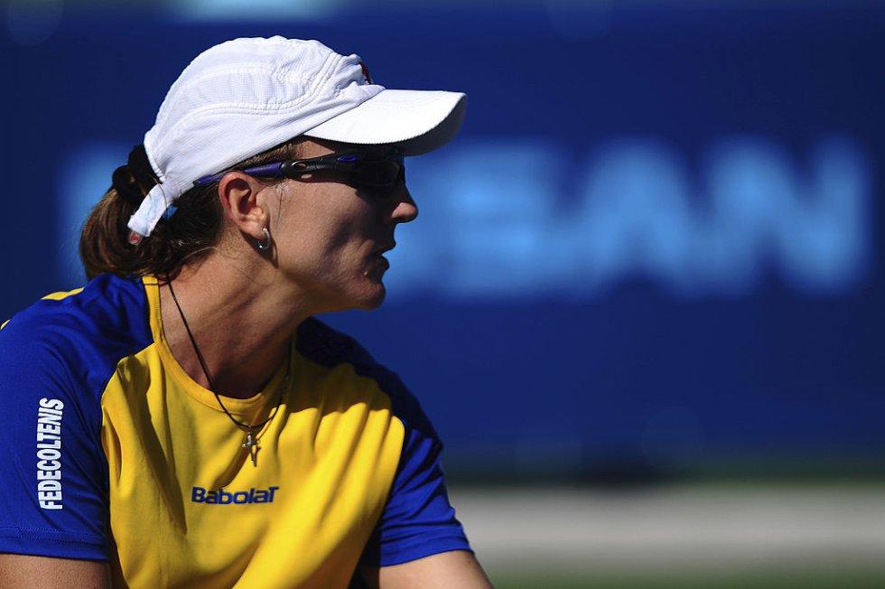 Catalina Castaño: Una de las máximas exponentes del tenis femenino colombiano en el mundo, que además ganó con honores su lucha contra el cáncer.