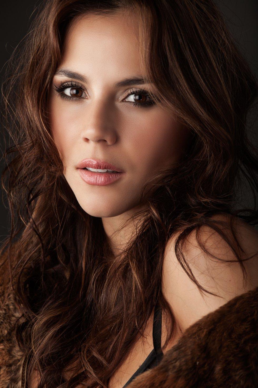 María Nela Sinistra, actriz colombiana.