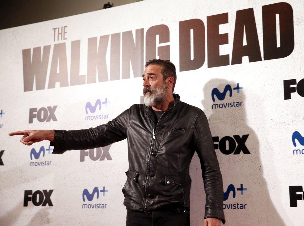 """Jeffrey Dean Morgan interpreta a Negan, antagonista de la serie """"The Walking Dead""""."""