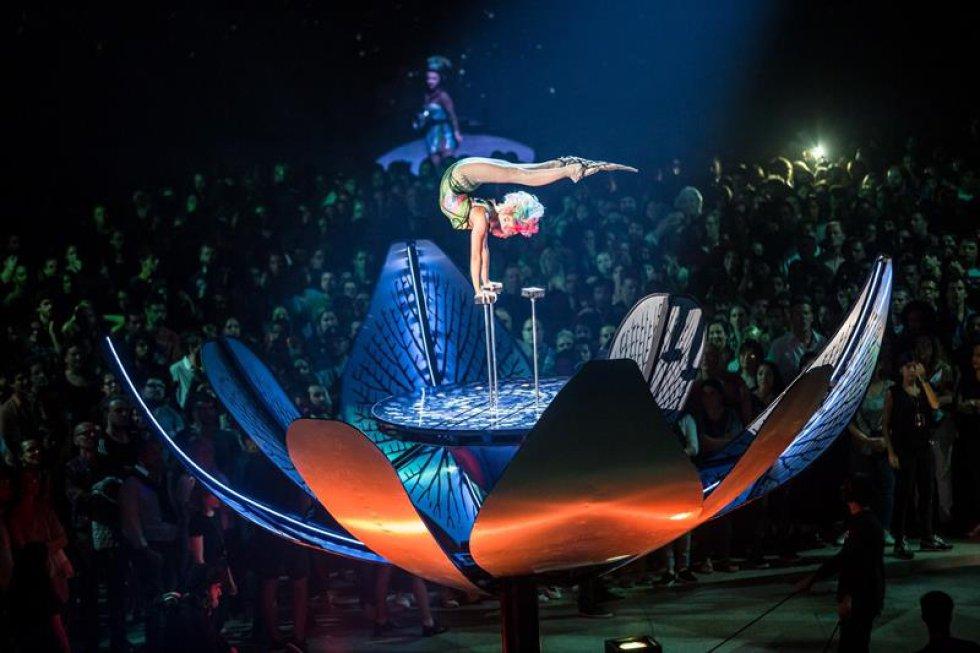 Argentina se estremeció con el espectáculo que es amenizado por las canciones en voz del emblemático Gustavo Cerati, fallecido en 2014.