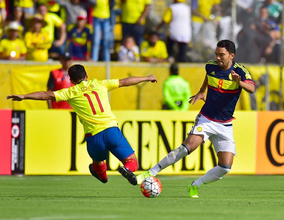 Abel Aguilar se retiró lesionado en el segundo tiempo.