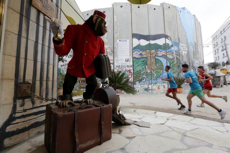 Desde hace 5 años, el Comité Olímpico de Palestina realiza la maratón que tiene la intención de exigir el derecho de moverse en libertad.