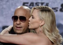 Vin Diesel y Charlize Theron brillan en la presentación de The Fate of the Furious