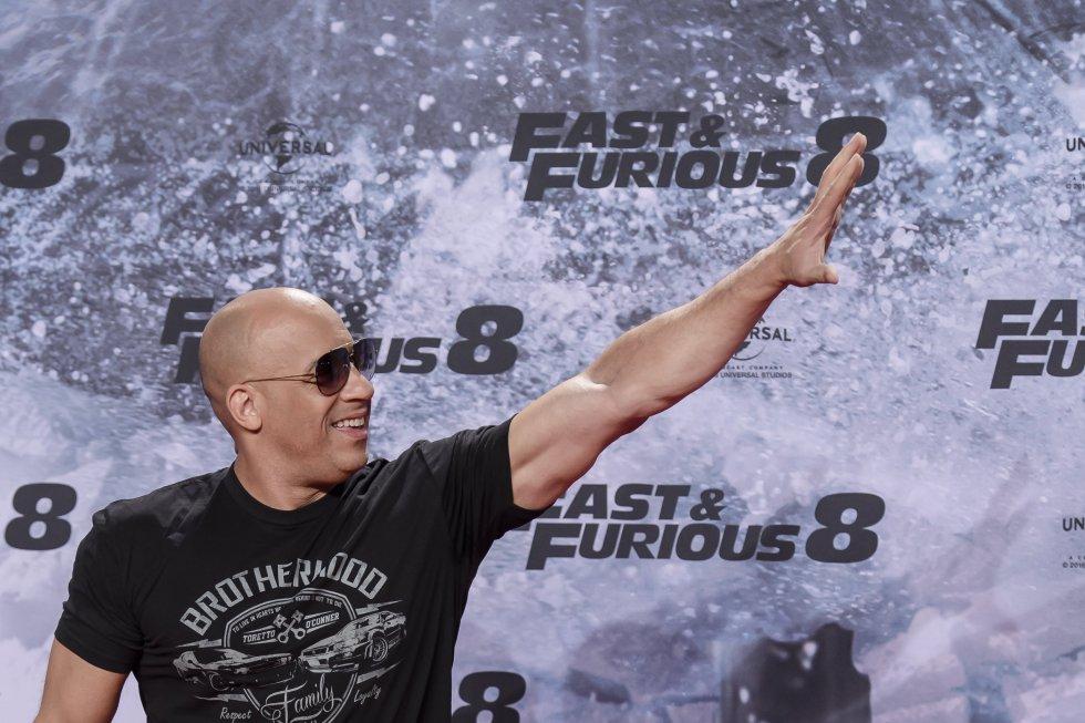 Vin Diesel ha estado en siete de ocho entregas de la saga Fast & Furious.