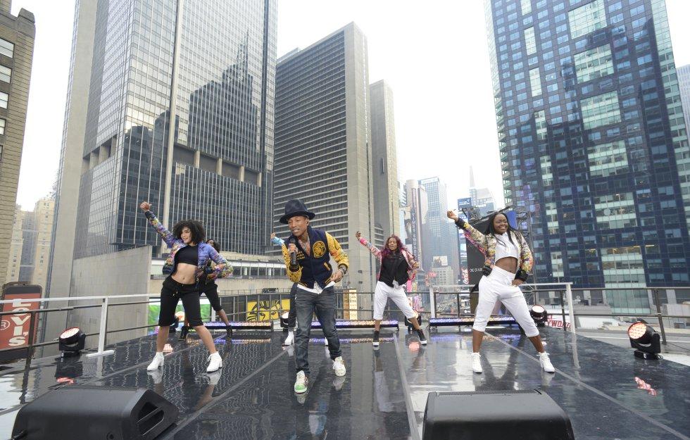 En su música Pharrell Williams tiene influencias de artistas como Michael Jackson, Stevie Wonder, Donny Hathaway, Q Tip, entre otros.