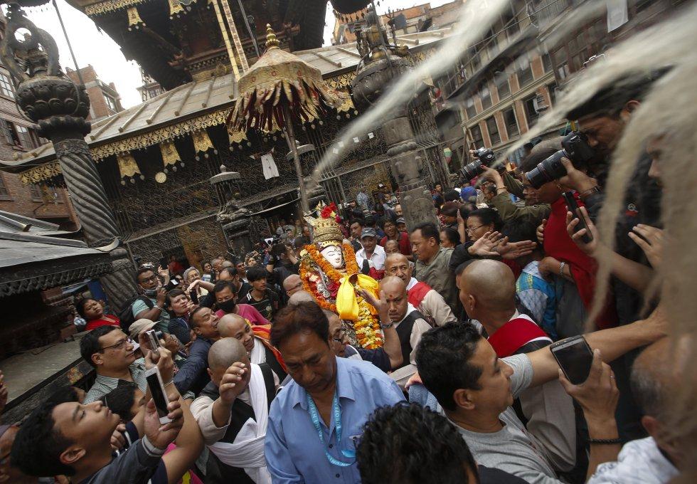 Seto Machindranath ofrecerá una buena estación de monzones tras la procesión.