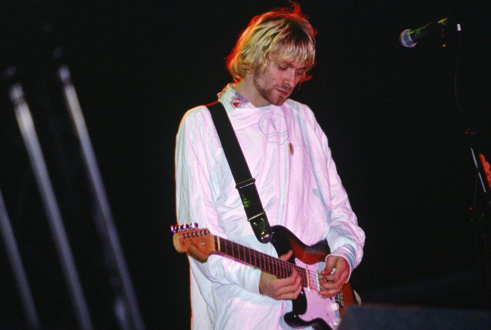 La banda estaba conformada por Kurt y Krist Novoselic.