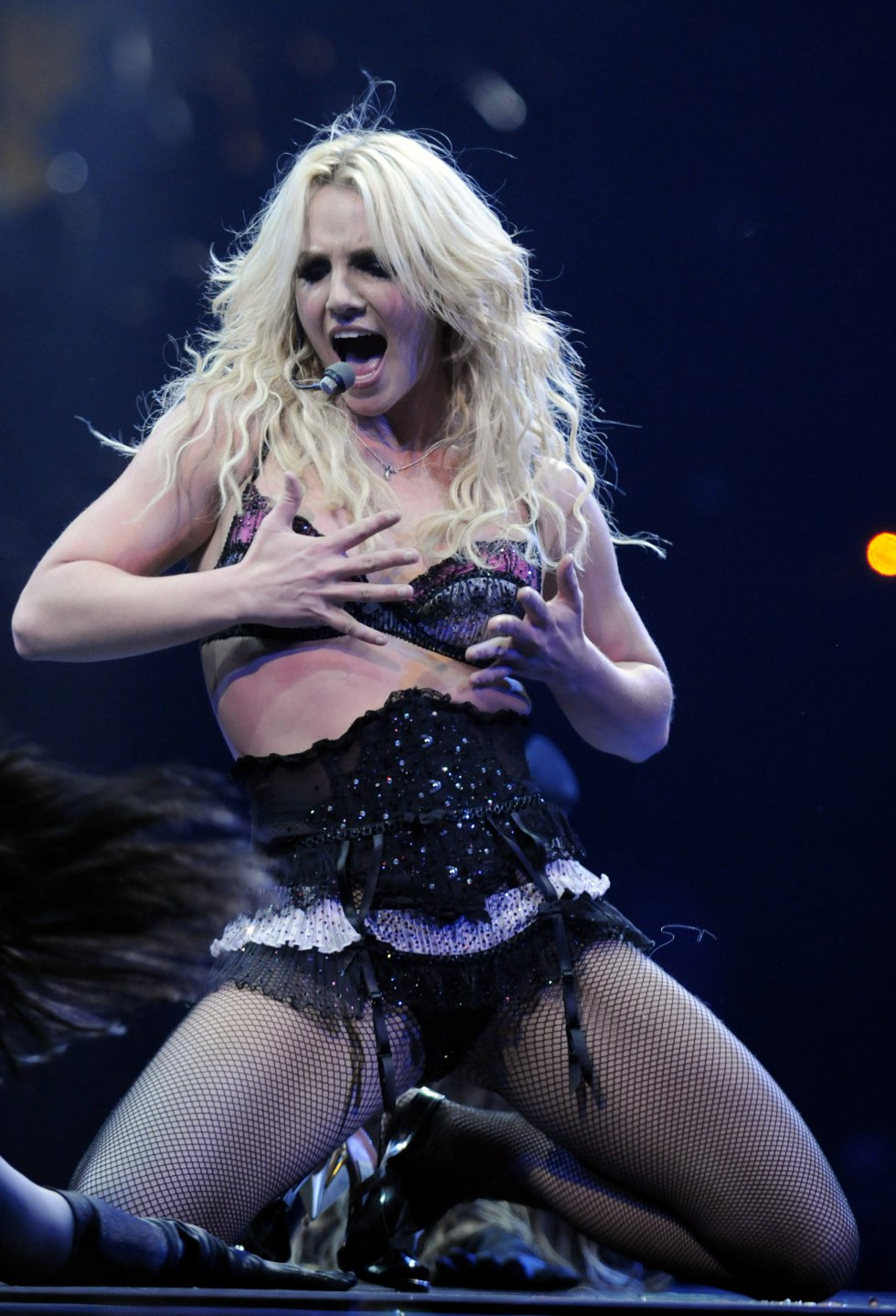 'The Circus Starring Britney Spears' Tour Opens en New Orleans - Show - 3 de marzo, 2009.