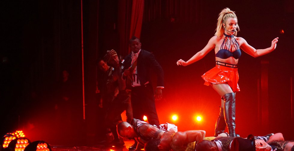 Britney Spears Perform en Las Vegas.