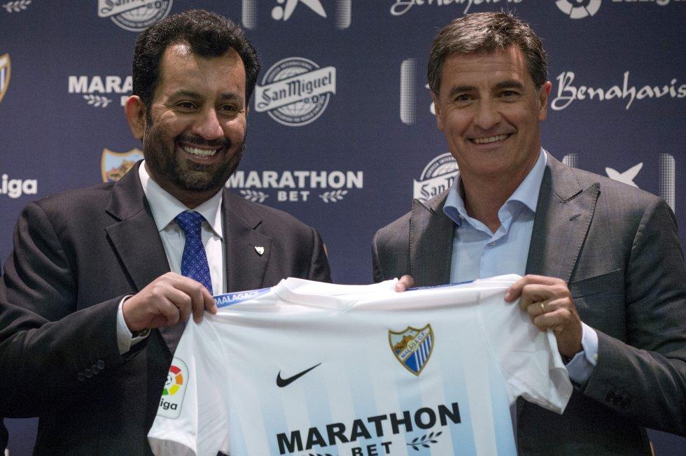 El Catarí Abdullah Al Thani se adjudicó, en 2010, la propiedad del equipo español Málaga, aunque sin relevancia aún en el deporte.