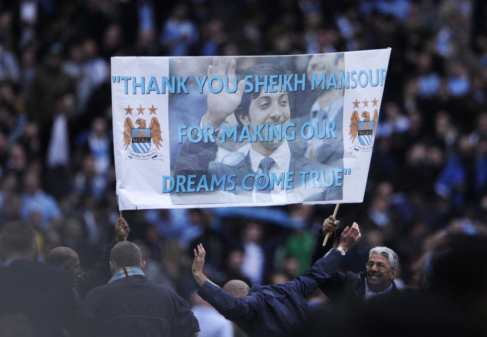 En el jeque Mansour bin Zayed, el Manchester City ha cobrado importancia en el fútbol inglés y europeo.