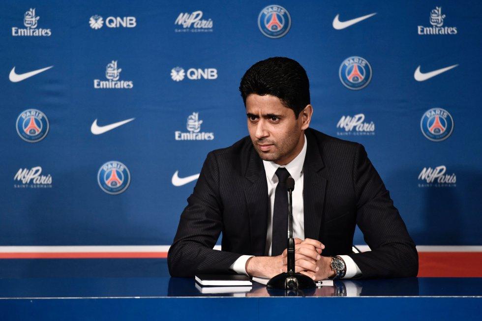 Con Nasser Ghanim Al-Khelaïfi, el Paris Saint Germain ha dominado la Liga en Francia, aunque aún está en deuda con la Liga de Campeones.