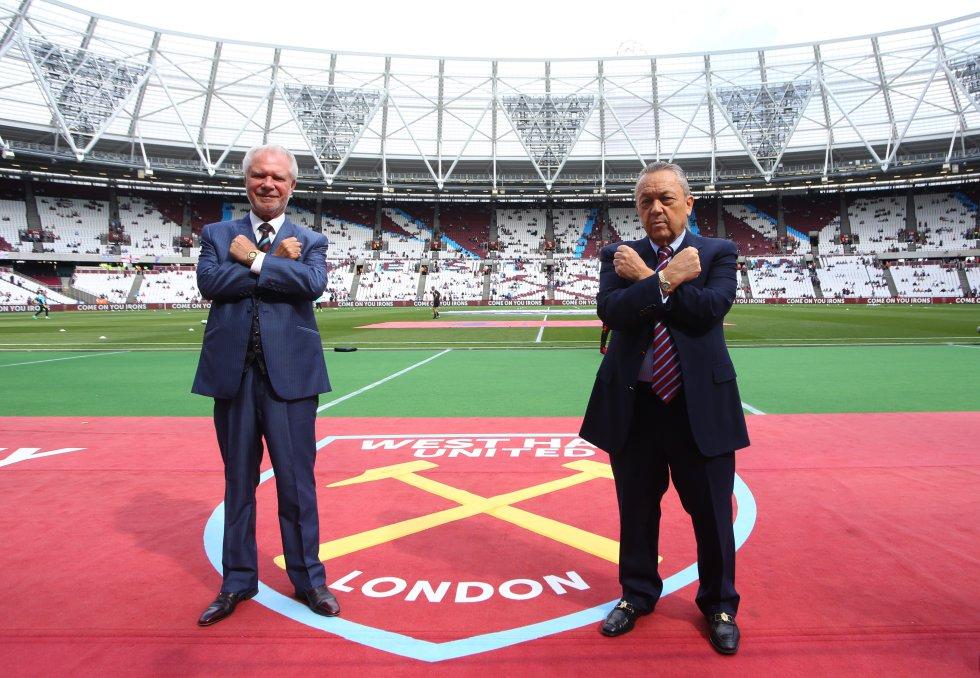 Desde 2010, David Sullivan y David Gold compraron la mayor parte del West Ham de Inglaterra.