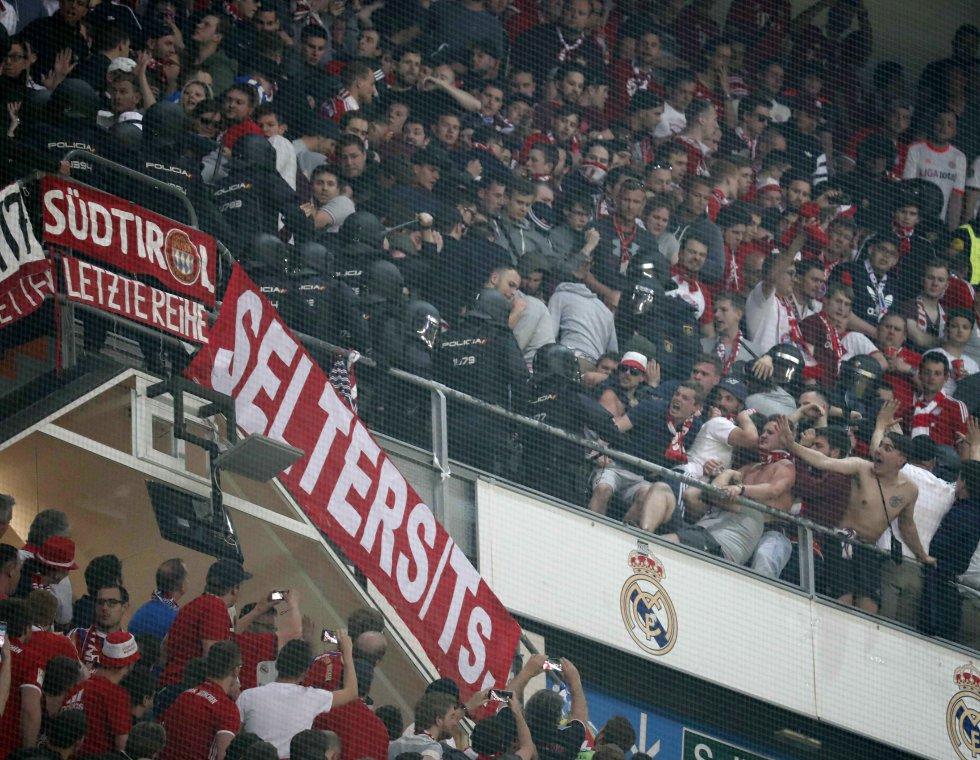 Real Madrid Bayern Múnich: En imágenes: la clasificación del Madrid a las semifinales