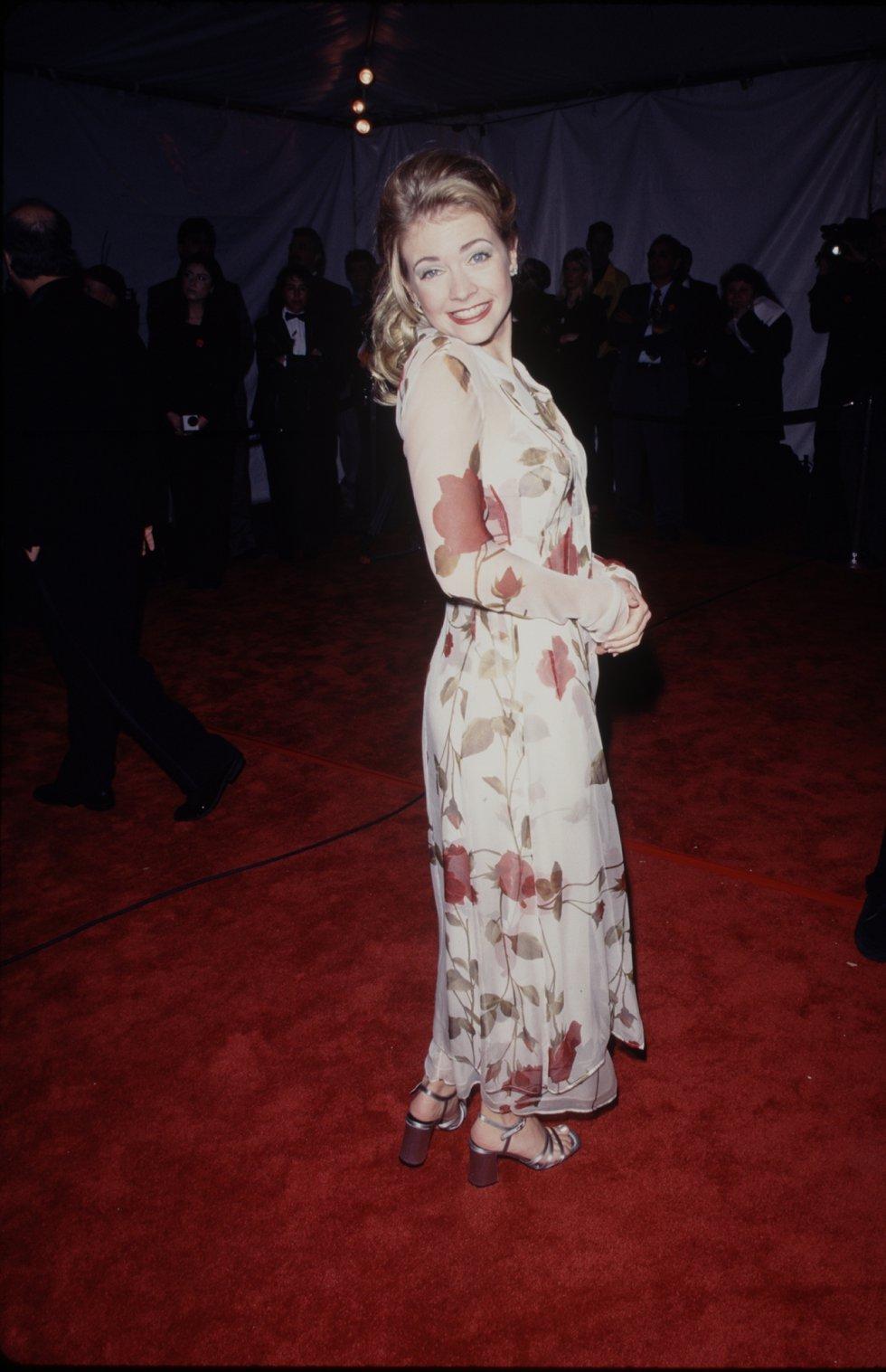 """En 2003 después del final de la serie, """"Sabrina, una bruja adolecente"""", que la volvió famosa en muchas partes del mundo fue registrada en una miniserie el matrimonio de la actriz con el músico Mark Wilkerson."""