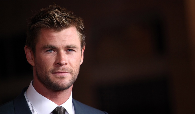 El actor Chris Hemsworth es recordado por interpretar a Thor, en las cintas de Universo Cinematográfico de Marvel.