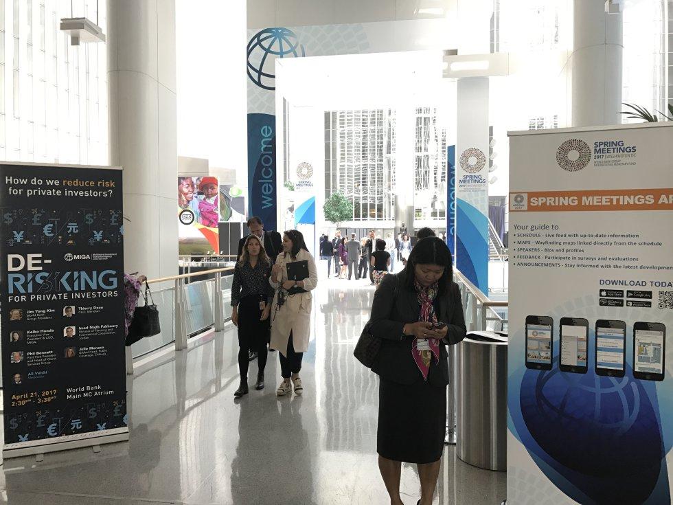 Reunión anual de primavera del Banco Mundial