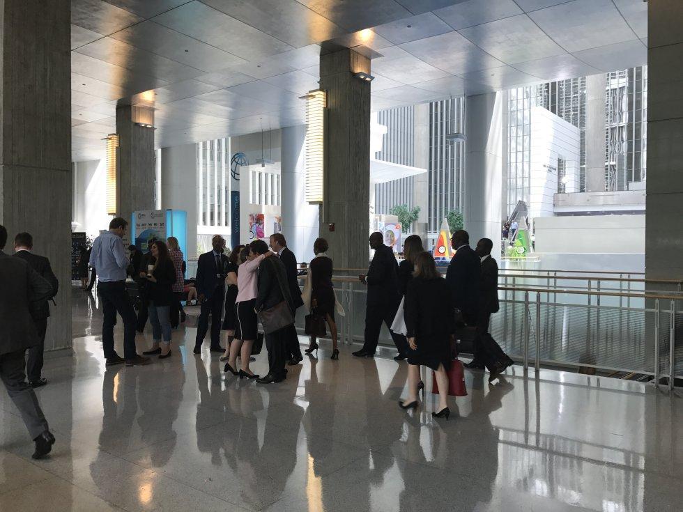 Caracol Radio en la reunión del Banco Mundial