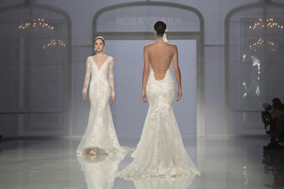 La marca Studio St Patrick, del grupo Pronovias, debutó en la Barcelona Bridal Fashion Week.
