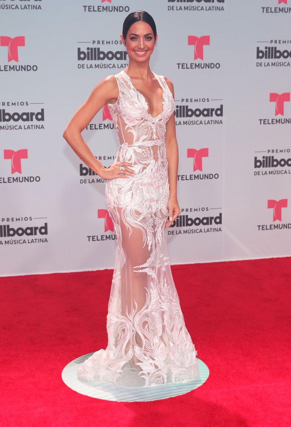 Erika Csiszer, presentadora, reportera, modelo y actriz venezolana.