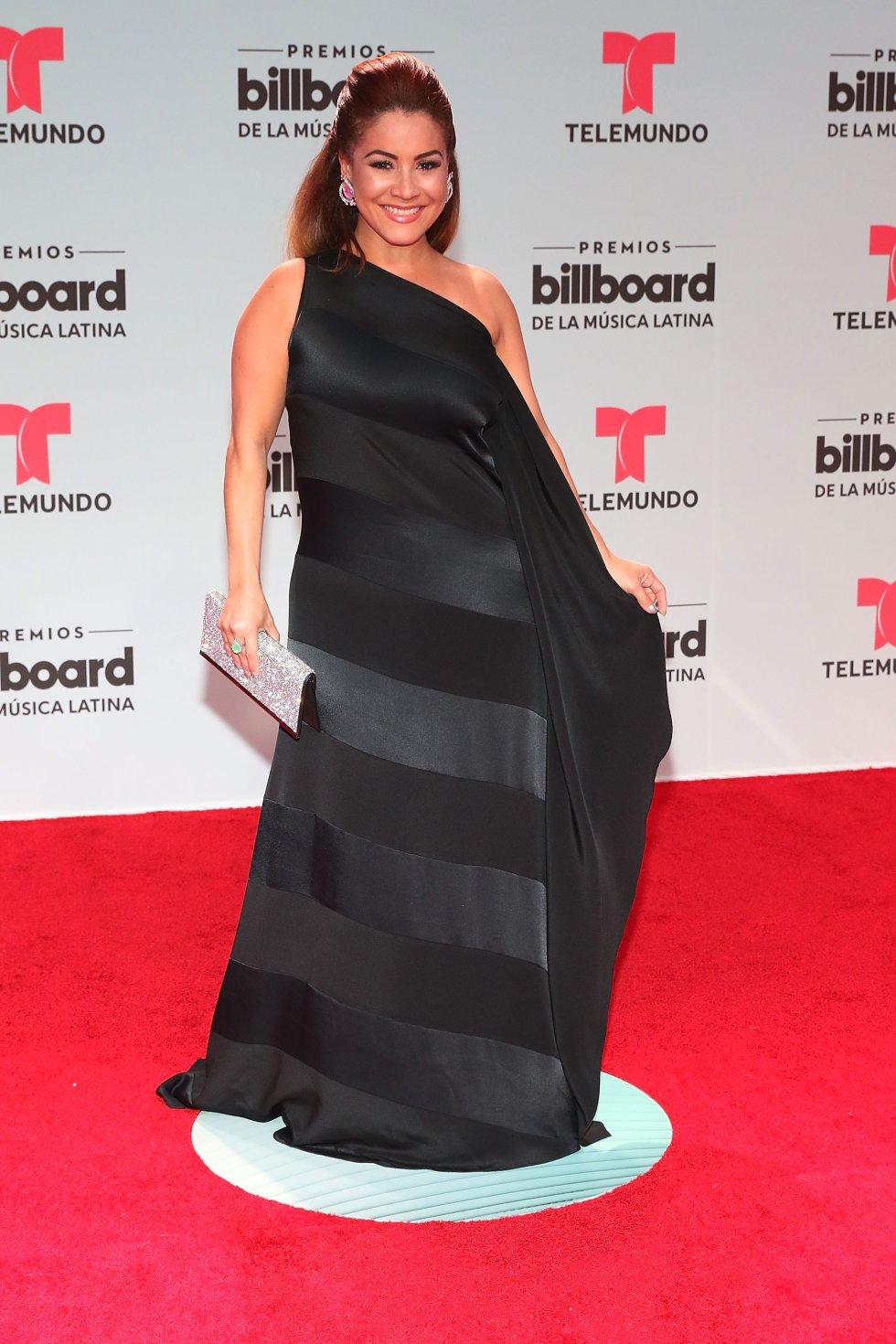 Carolina Sandoval presentadora venezolana.