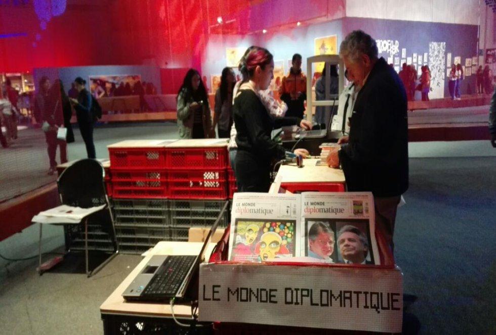 """""""Traemos muchos escritores para niños y jóvenes pero hay también escritores de literatura general y dibujantes de cómics. Además está Pierre Lemaitre, que es muy conocido en Francia por la literatura negra"""", señaló."""