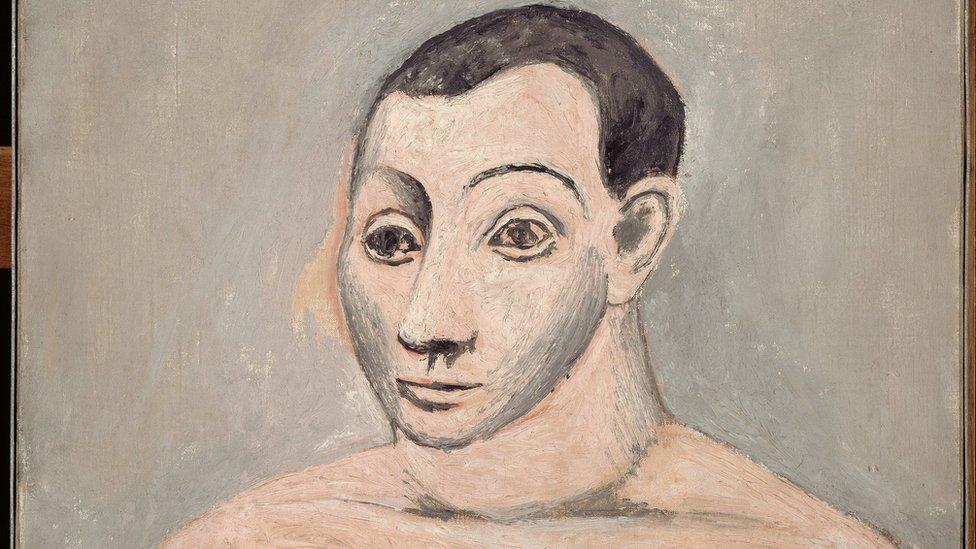 """Ambos artistas demostraron su talento desde temprana edad. Se conocieron a principios de 1914 y forjaron una amistad que se basó en valores estéticos comunes y un mismo idioma. (Obra: """"Autorretrato"""", óleo sobre lienzo, Pablo Picasso, 1906)."""