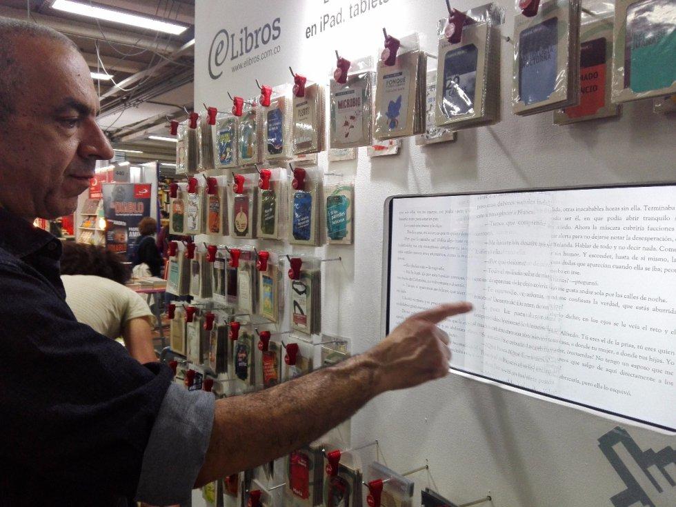 @eLibros le apuesta a los libros electrónicos en la versión número 30 de la Feria Internacional del Libro en Bogotá.