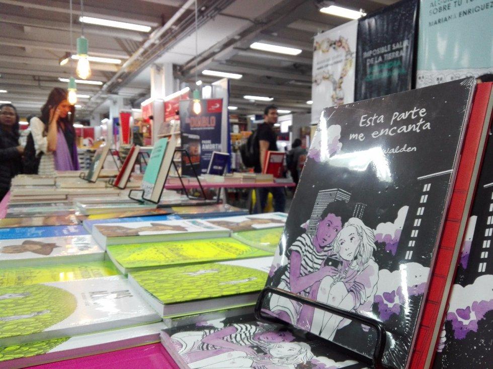 """Para ésta Feria del Libro en Bogotá, Laguna Libros destaca la publicación de varias obras literarias, entre ellas, """"Esta parte me encanta"""", de Tillie Walden."""