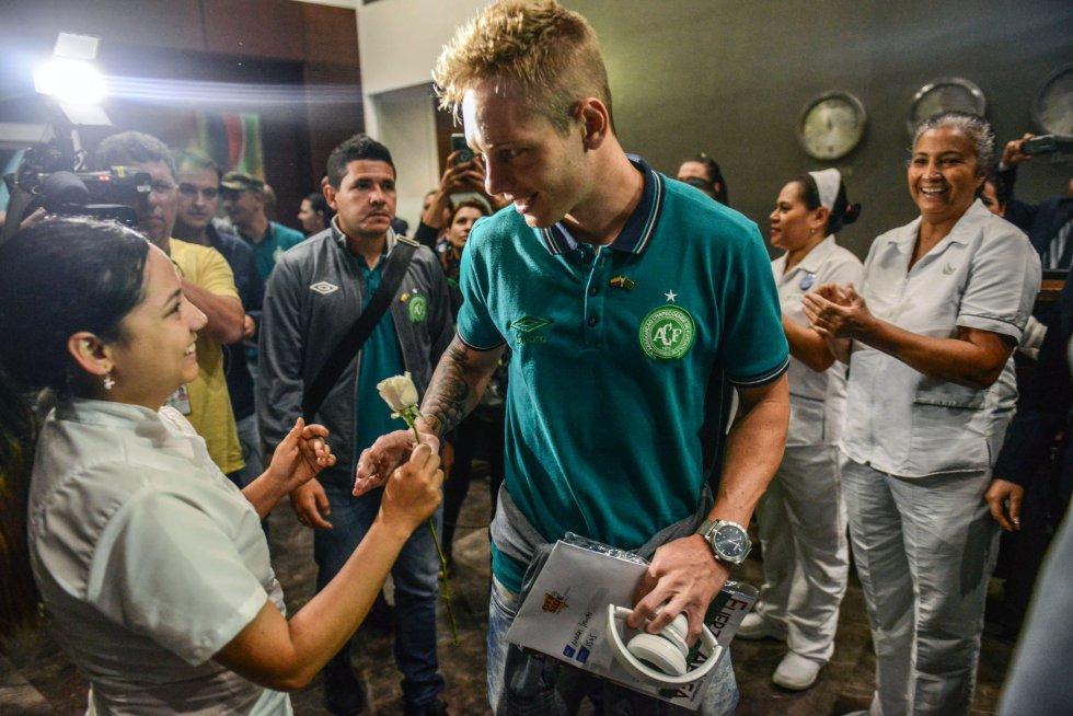 Chapecoense: Así ha sido la llegada de Chapecoense a Medellín