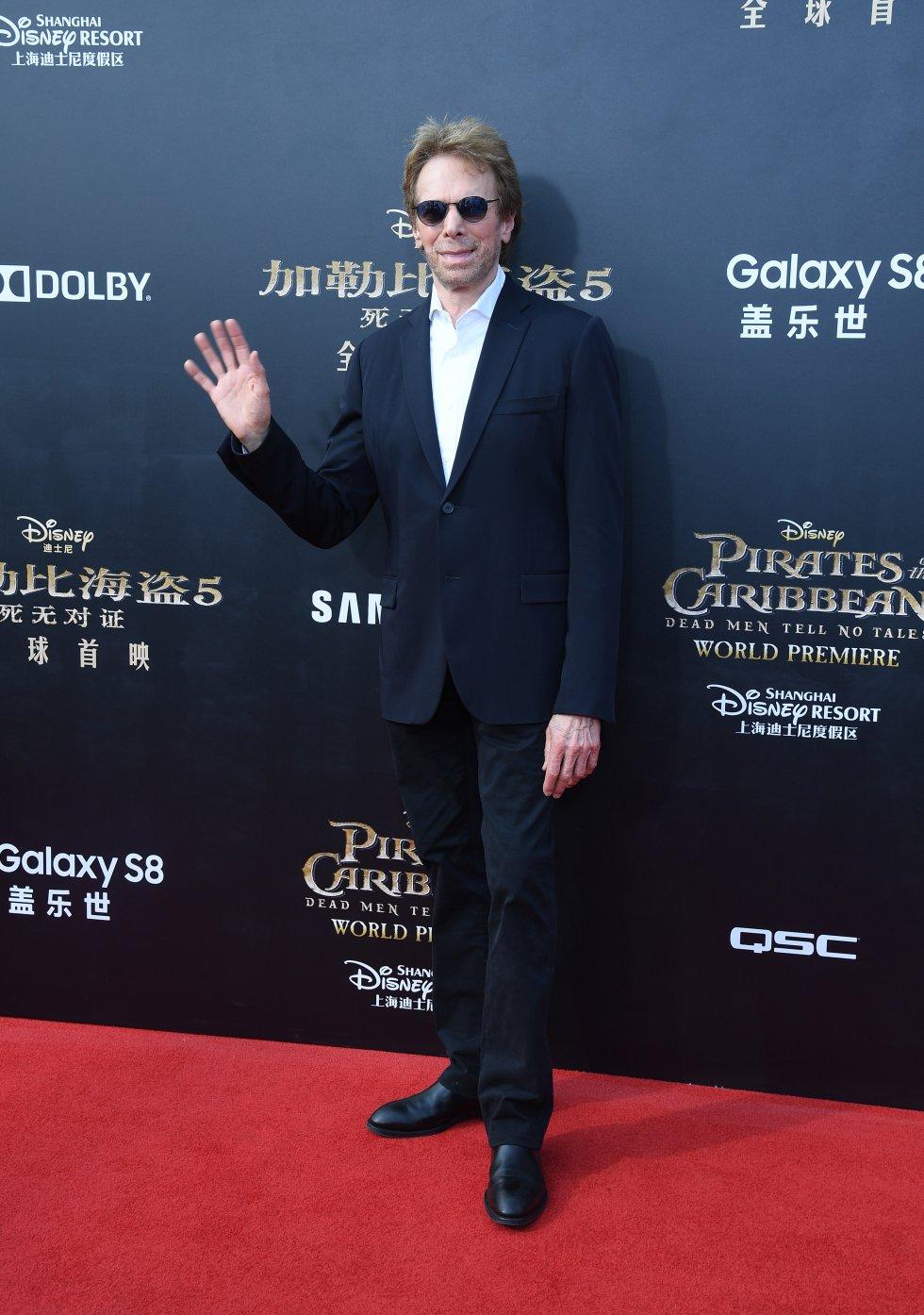 El productor Jerry Bruckheimer es uno de los miembros del elenco que ha participado en la realización de todas la cinta.