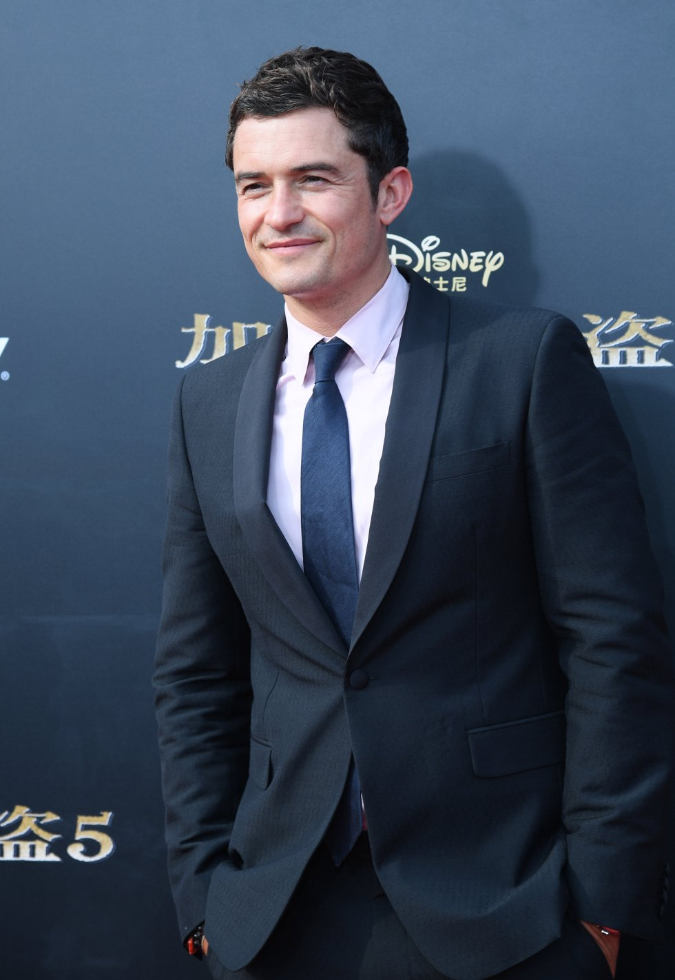 El actor inglés Orlando Bloom causó histeria entre los asistentes a la premiere.