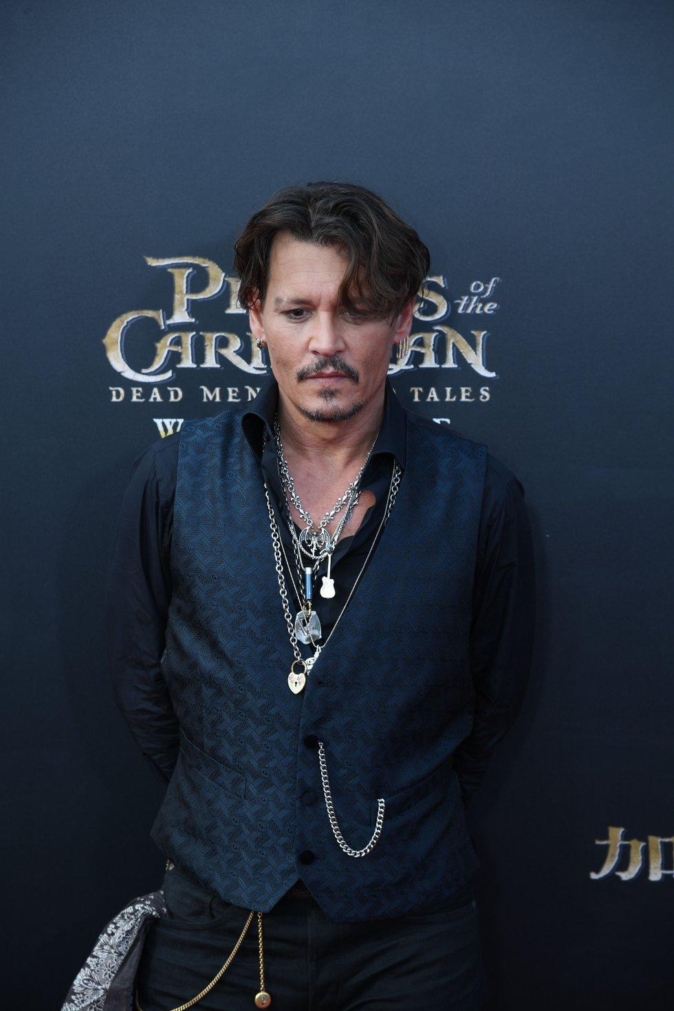 El capitán Jack Sparrow, interpretado por Jhonny Deep.