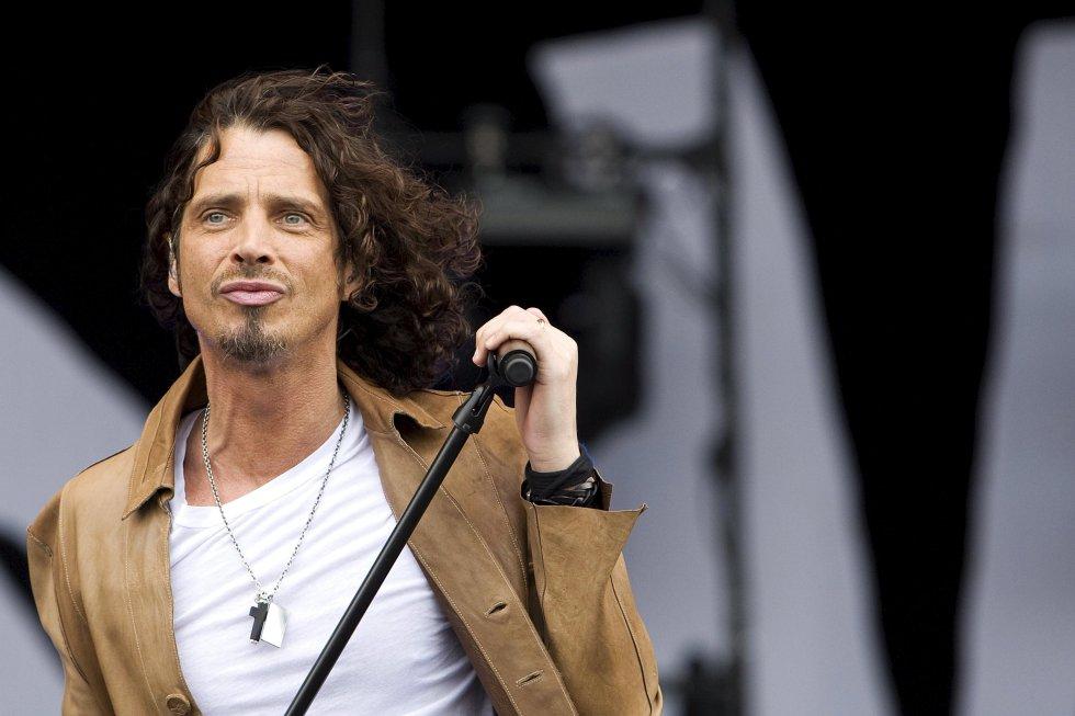 Chris Cornell, vocalista de los grupos Soundgarden y Audioslave