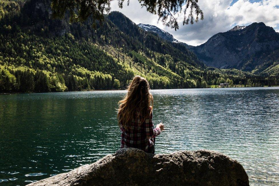 Esta foto fue tomada por Brian Davis en el Lago Langbathsee, en Austria.