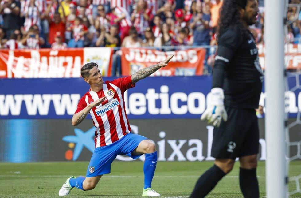 Estadio Vicente Calderón: Leyendas del mundo le dieron el adiós al estadio Vicente Calderón
