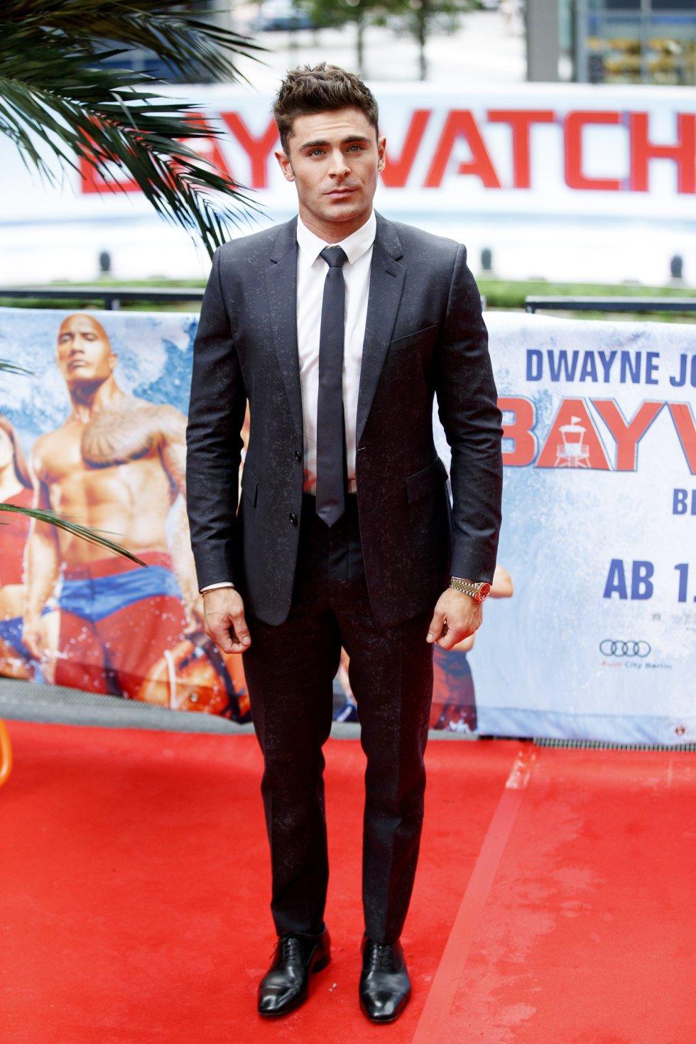"""El actor estadounidense, Zac Efron, recordado por su participación en la trilogía de """"High School Musical""""."""