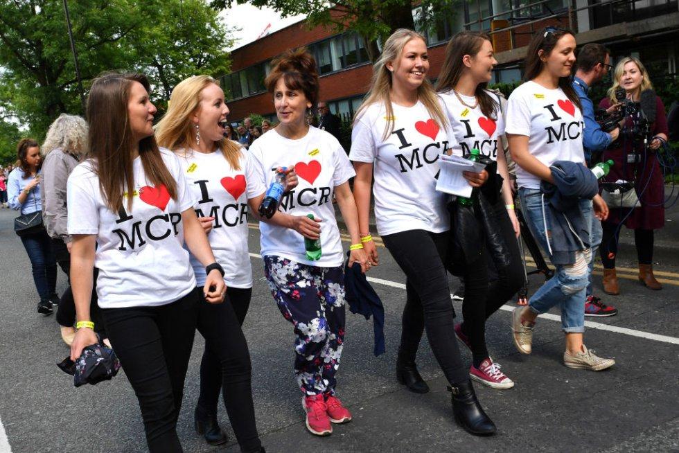 """El espectáculo """"One Love Manchester"""" cuenta además con la presencia de representantes políticos y líderes de distintos credos religiosos en un guiño a la unidad."""